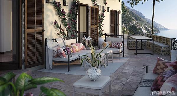 Progetto Villa Positano
