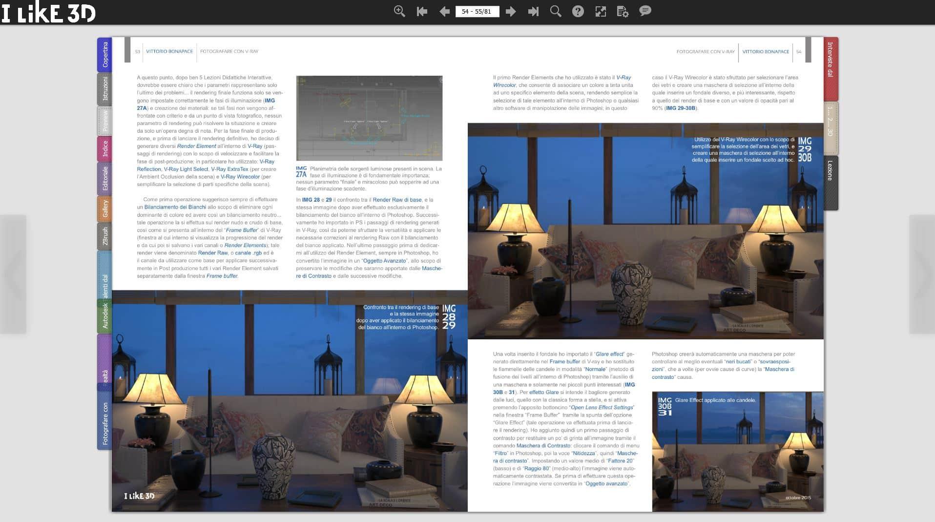 Pubblicazione su Magazine | I Like 3D | 2015 1