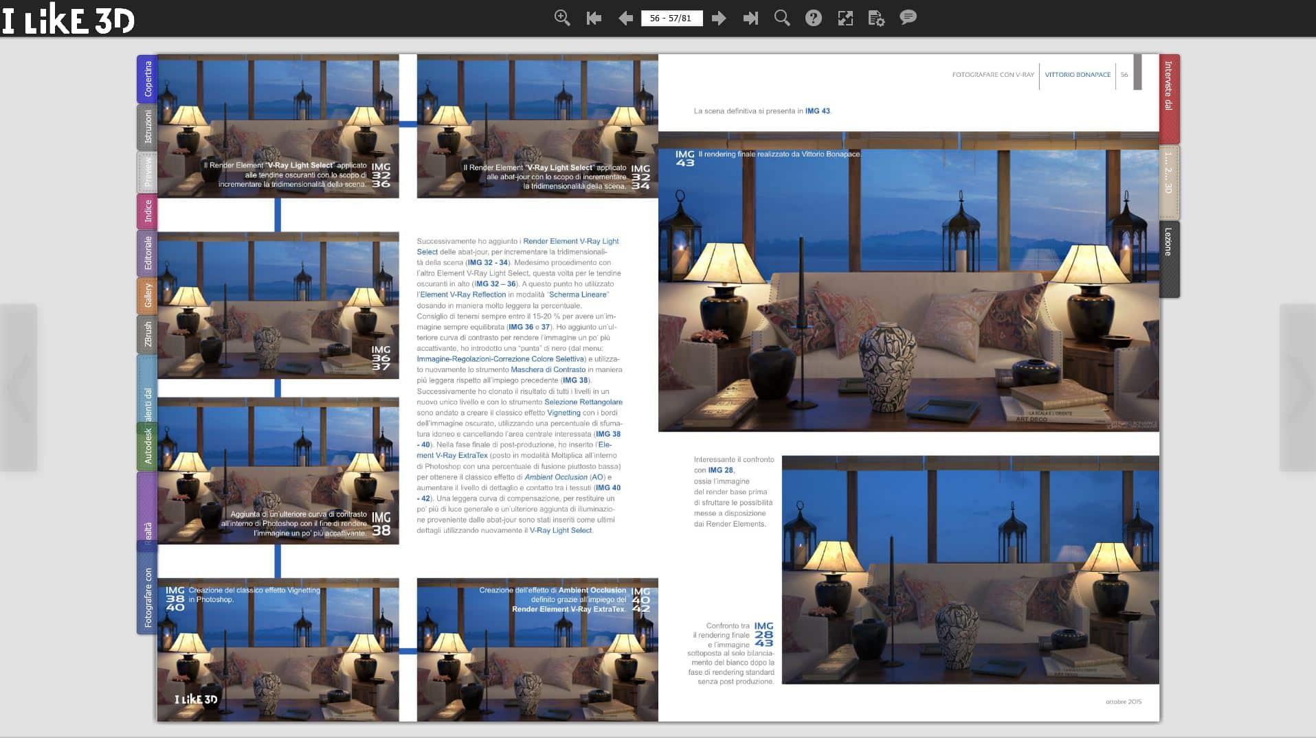 Pubblicazione su Magazine | I Like 3D | 2015 2 2